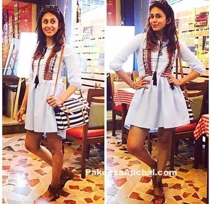 Kishwar Merchant in a Tribal Print Mini Dress, #BollywoodDesignerDresses, #CelebrityDresses, #CelebrityShortSkirt, #DesignerWear, #KishwarMerchant, #PrintedShortSkirt, #ShortSkirtForGirls, #ShortSk... | Indian Fashion Updates | Scoop.it