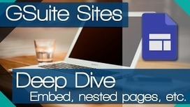 NEW Google Sites - More options (Deep Dive) | Using Google Drive in the classroom | Scoop.it
