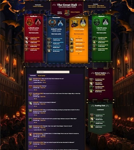 Pottermore Insider: Have a spooky Hallowe'en in the Great Hall! | Pottermore | Scoop.it