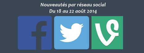 Récapitulatif des dernières fonctionnalités par réseau social | PITIWIKI & les réseaux sociaux | Scoop.it