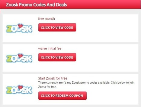 Discount for zoosk