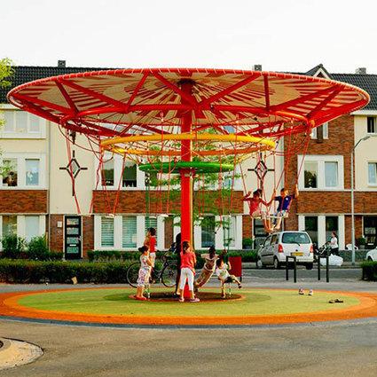 Un Carrousel qui produit de l'électricité en fonction de l'énergie dépensée par les enfants | Lateral Thinking Knowledge | Scoop.it