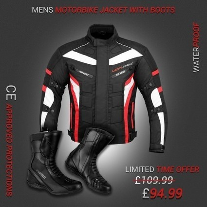Spiral Dotted First Textured All Weather Ladies Motorbike Jacket Women Waterproof Motorcycle Gears Clothing in Cordura Fabric with Armours Red