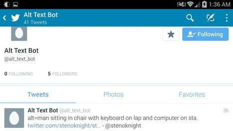 Alt Text Bot Image Descriptions FTW | Twitter Bots | Scoop.it