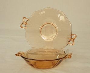 Vintage Amber Glassware Fostoria Fairfax Server | Vintage Passion | Scoop.it