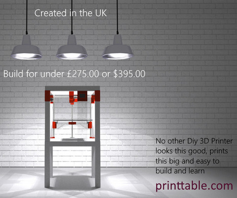 PRINTTABLE the Affordable, Attractive IKEA Lack Table Hack to create a 3D Printer | Open Source Hardware News | Scoop.it