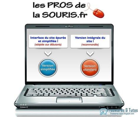 Le site du jour : Les Pros de la Souris, un site d'aide pour les débutants en informatique | Time to Learn | Scoop.it
