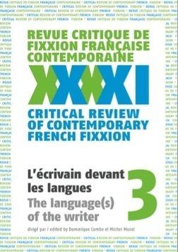 Revue critique defixxion française contemporaine, n°3 | Revues | Scoop.it
