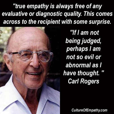 Carl rogers core conditions