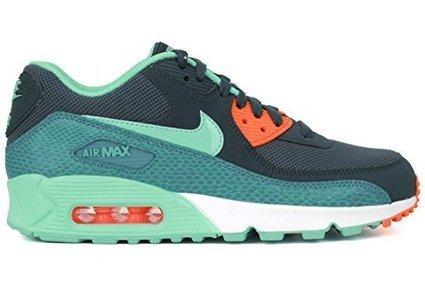 18a96200bb Nike Women's Air Max 90 Spc Bl/Hypr Trq/Dsty Ccts/Hypr Running Shoe 7 Women  US
