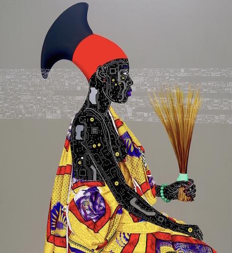 art africain contemporain peinture