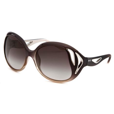 Emilio Pucci Black Women s Round Grey Gradient Sunglasses 528e447247