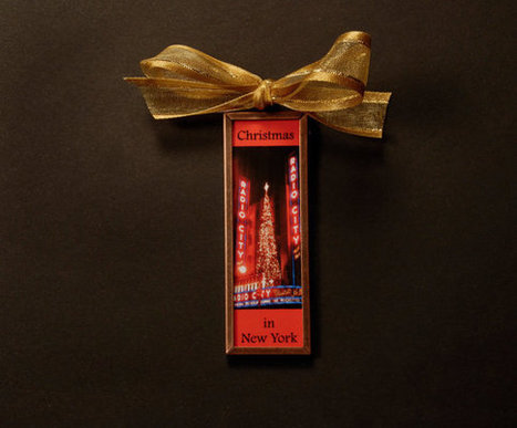 New York City Christmas Ornament-Radio City At Christmas by DeborahJulian   Christmas Cat Ornaments and Cards   Scoop.it