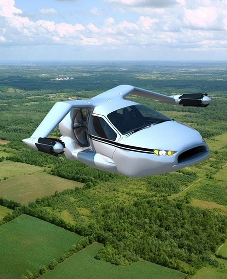 Video: The First Flying Car Is Finally Here, Goes On Sale 2015 – Can Take Off Vertically In Traffic Jam! | Science, Technology & Education | Scoop.it