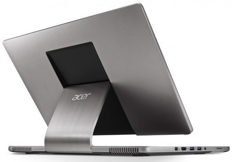 "Acer Aspire R7 notebook flips, twists, and folds on new ""Ezel"" hinge 
