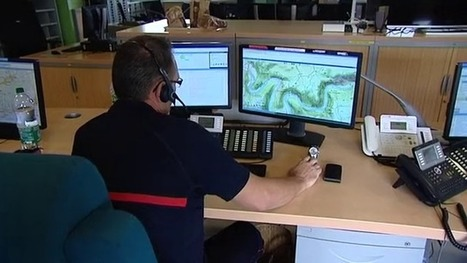 Les pompiers du Gard utilisent les réseaux sociaux pour gérer les inondations | Cévennes : économie et rayonnement | Scoop.it