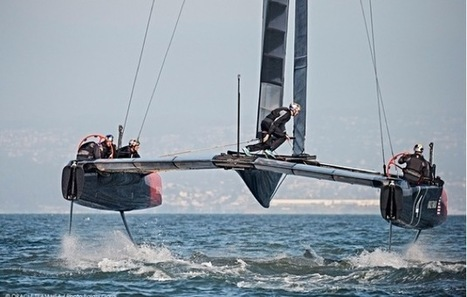 New America's Cup class revealed. Think 46 knots in 16 knots of wind and that's just the start - Yachting World | Wing sail technology | Scoop.it
