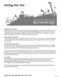 Testing Your Soil - Brooklyn Botanic Garden | Gardening | Scoop.it