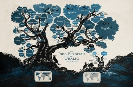 A language family tree - in pictures   Words and What They Are   Scoop.it