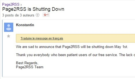 Page2RSS will be shutting down May 1st | RSS Circus : veille stratégique, intelligence économique, curation, publication, Web 2.0 | Scoop.it