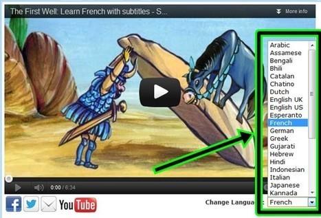 Apprendre les langues pour les enfants: vidéos avec sous-titres | netnavig | Scoop.it