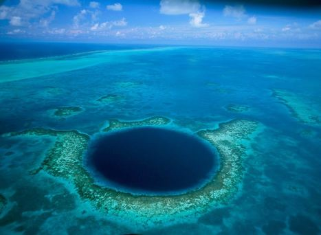 """The Blue Hole - Nominated for the """"8th Wonder of the World""""   Discover Belize Travel Magazine   Belize Travel and Vacation   Scoop.it"""