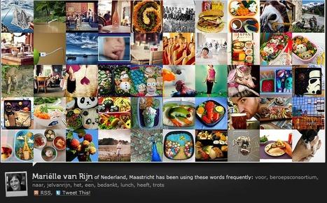 Je tweets visualiseren met foto's? | Visualisatie-tools Social Media | Scoop.it