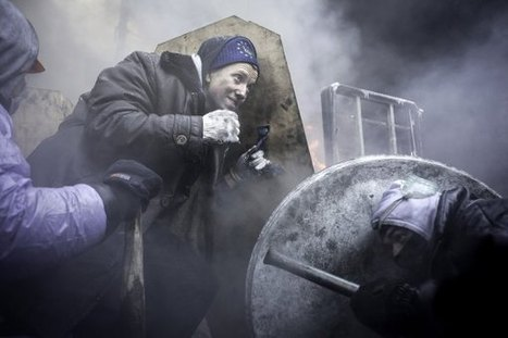 Kiev's Battlefield: Protests Ignite Fiery Clashes in Ukraine | TIME.com | Explore & document the World | Scoop.it