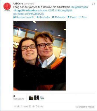 International Hug a librarian Day - Vagabondages | Communiquer en médiathèque | Scoop.it