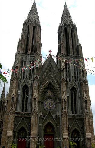 St.Philomena's Church- Mysore- Karnatak State   Gateway to India   Scoop.it