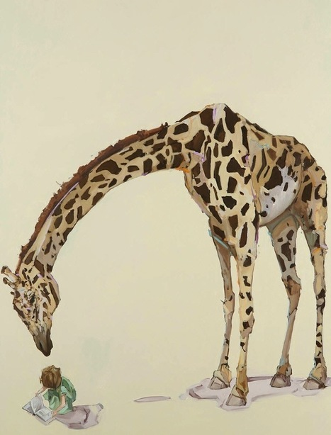 Paintings of Young Children Bonding with Playful Animals - My Modern Metropolis   Le It e Amo ✪   Scoop.it