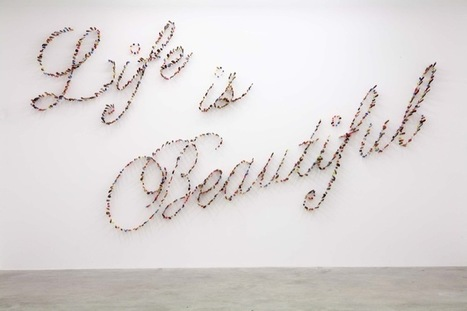 Farhad Moshiri: Life is Beautiful | Art Installations, Sculpture, Contemporary Art | Scoop.it