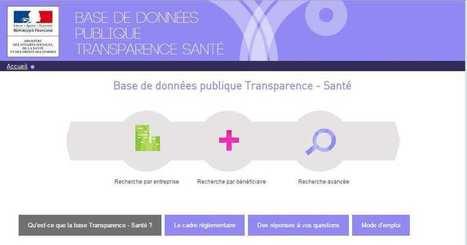 Base Transparence Santé: où en est-on? | Actualités monde de la santé | Scoop.it