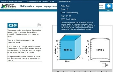 Online Common Core Test Items Released by Smarter Balanced Consortium -- THE Journal | Common Core Implementation | Scoop.it