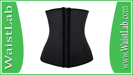 0beadd2870d Charmian Women s Latex Underbust Waist Training Steel Boned Shapewear Corset  Review ~ WaistLab