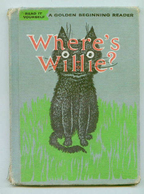 Vintage Wheres Willie A Golden Beginning Reader about a Kitten Illustrated by Erik Blegvad Hardcover | Antiques & Vintage Collectibles | Scoop.it