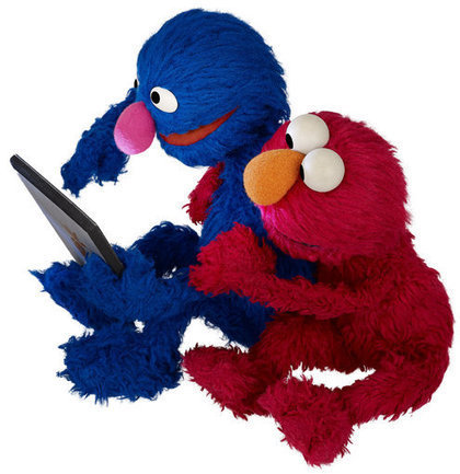 Sesame Workshop Tackles Literacy With Technology | playbased learning | Scoop.it