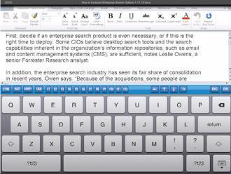 3 Ways to Get Microsoft Office on Your iPad, Android Tablet | eLearning tools | Scoop.it