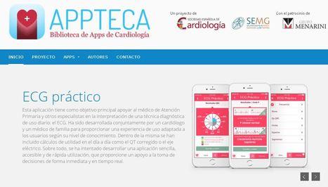 SEC y SEMG crean una biblioteca de aplicaciones móviles para la práctica clínica cardiovascular - correo farmacéutico | Las Aplicaciones de Salud | Scoop.it