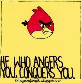 He who angers you... | Quote for Thought | Scoop.it
