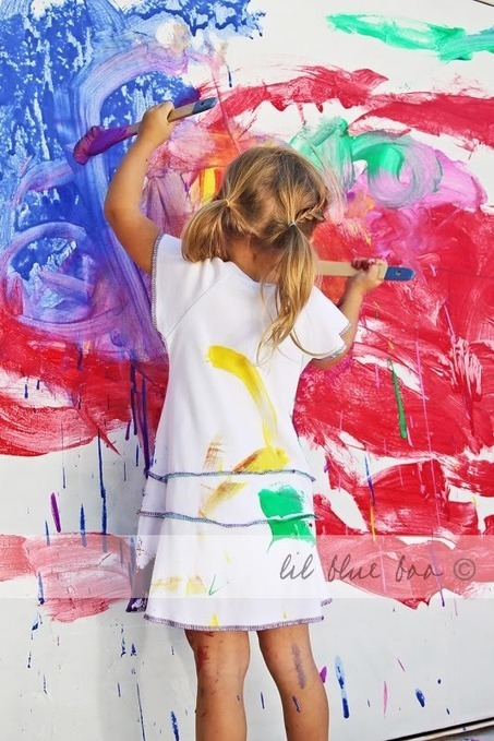 Painting With Children | Lil Blue Boo | ways2play | Scoop.it