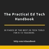 Free Technology for Teachers: Download The Practical Ed Tech Handbook | Teach-ologies | Scoop.it