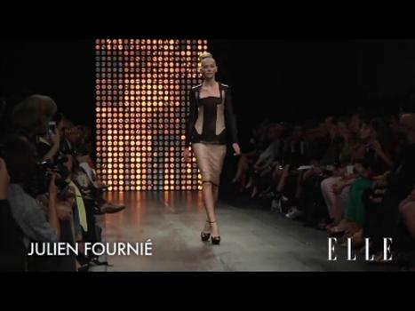 Elle Vidéos - Défilé Julien Fournié Haute Couture automne hiver 2012-2013   FashionLab   Scoop.it