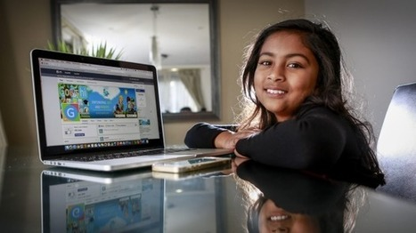 This nine-year-old Aussie built an app, and Apple flew her to San Francisco | Curtin iPad User Group | Scoop.it