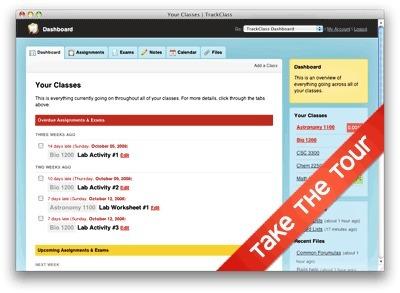 #TrackClass Simple, yet useful student organization tool #edtech20 #elearning | eduvirtual | Scoop.it