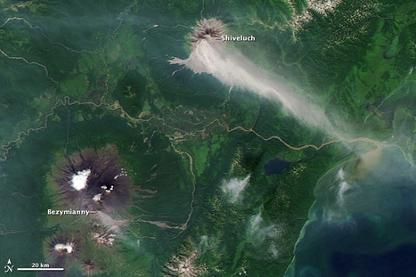 Activity at Shiveluch Volcano   Geospatial   Scoop.it