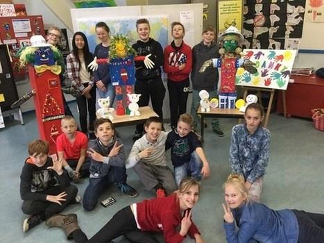 Leerlingen stoppen hun wensen voor een betere wereld in de CosmoGolem - Het Belang van Limburg   Mezeik,   Scoop.it