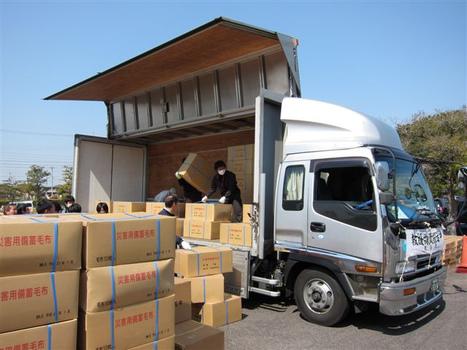 [Photo] L'Association des routiers japonais à l'oeuvre | Flickr - Photo Sharing! | Japon : séisme, tsunami & conséquences | Scoop.it