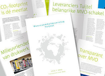 Duurzaamheidsverslag Tuijtel: MVO in de praktijk - Blokboek - Communication Nieuws | BlokBoek e-zine | Scoop.it