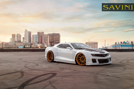 2013 Chevrolet Camaro On Savini Wheels SV57s | Muscle Cars of America | Scoop.it